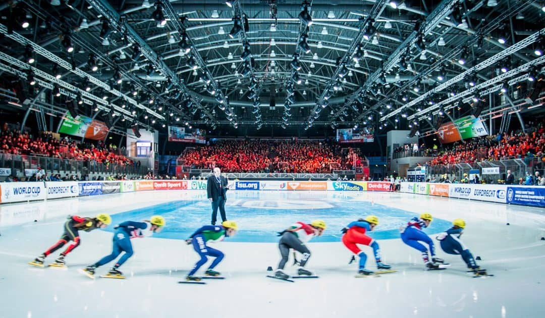 Sportboulevard host of the European Championships short track in the coming weeks